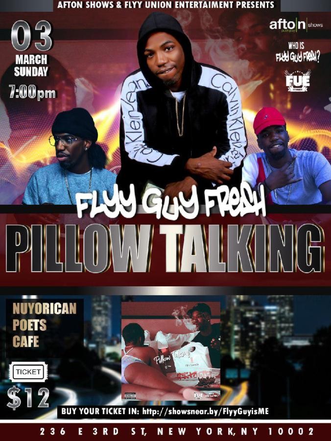 Pillow Talking Concert at Nuyorican Poets Cafe 3.3.19